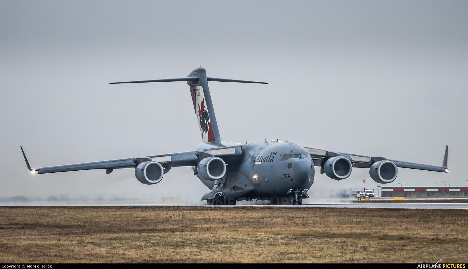 Canada - Air Force 177704 aircraft at Prague - Václav Havel