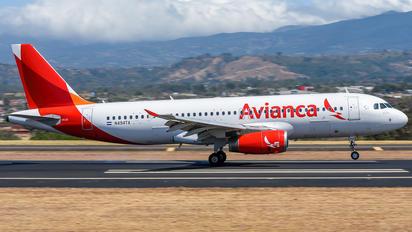 N494TA - Avianca Airbus A320