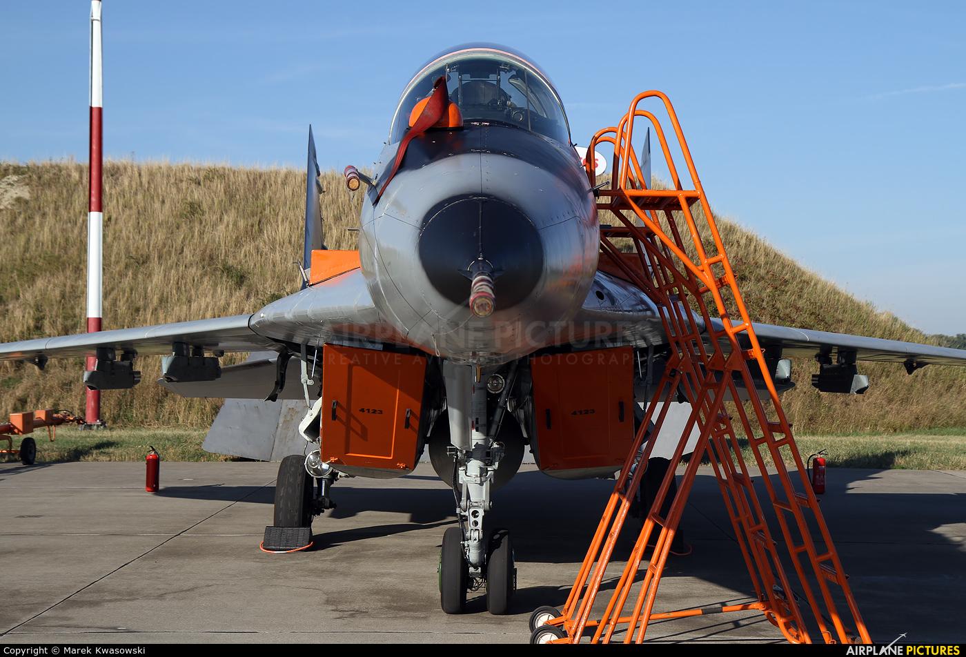 Poland - Air Force 4123 aircraft at Malbork