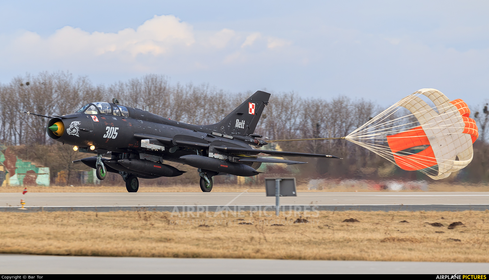 Poland - Air Force 305 aircraft at Poznań - Krzesiny