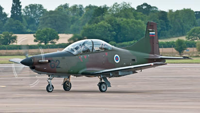 L9-62 - Slovenia - Air Force Pilatus PC-9M