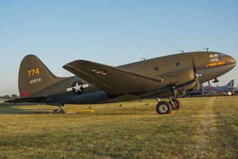 N78774 - American Airpower Heritage Museum (CAF) Curtiss C-46F Commando