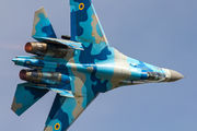 69 - Ukraine - Air Force Sukhoi Su-27UB aircraft