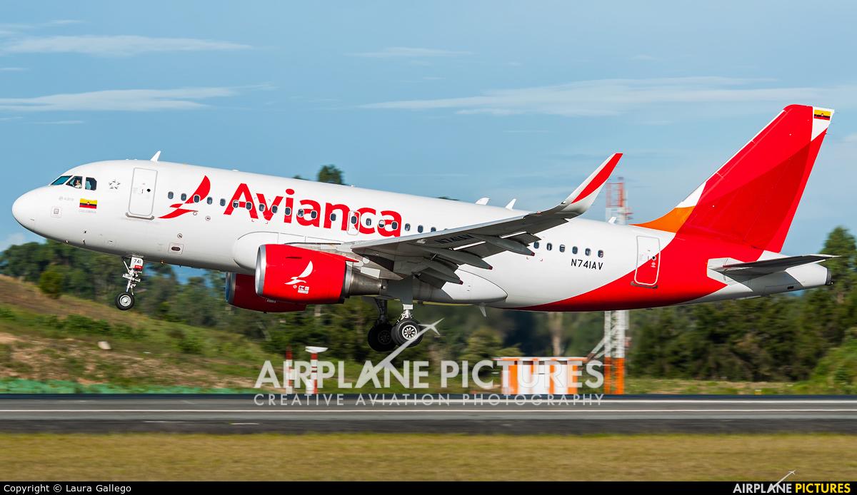 Avianca N741AV aircraft at Medellin - Jose Maria Cordova Intl