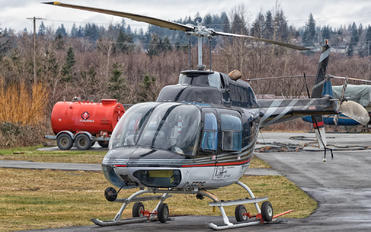 C-FEBF - E & B Helicopters Bell 206B Jetranger III