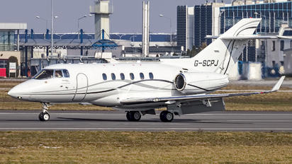 G-SCPJ - Saxon Air Hawker Beechcraft 900XP