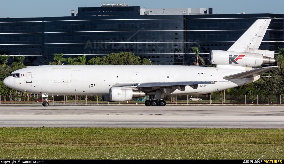 Kelowna Flightcraft Air Charter C-GKFD aircraft at Miami Intl
