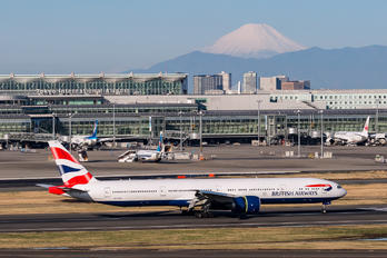 G-STBK - British Airways Boeing 777-300ER
