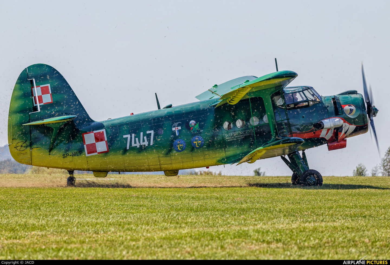 Private SP-MLP aircraft at Bielsko-Biała - Aleksandrowice