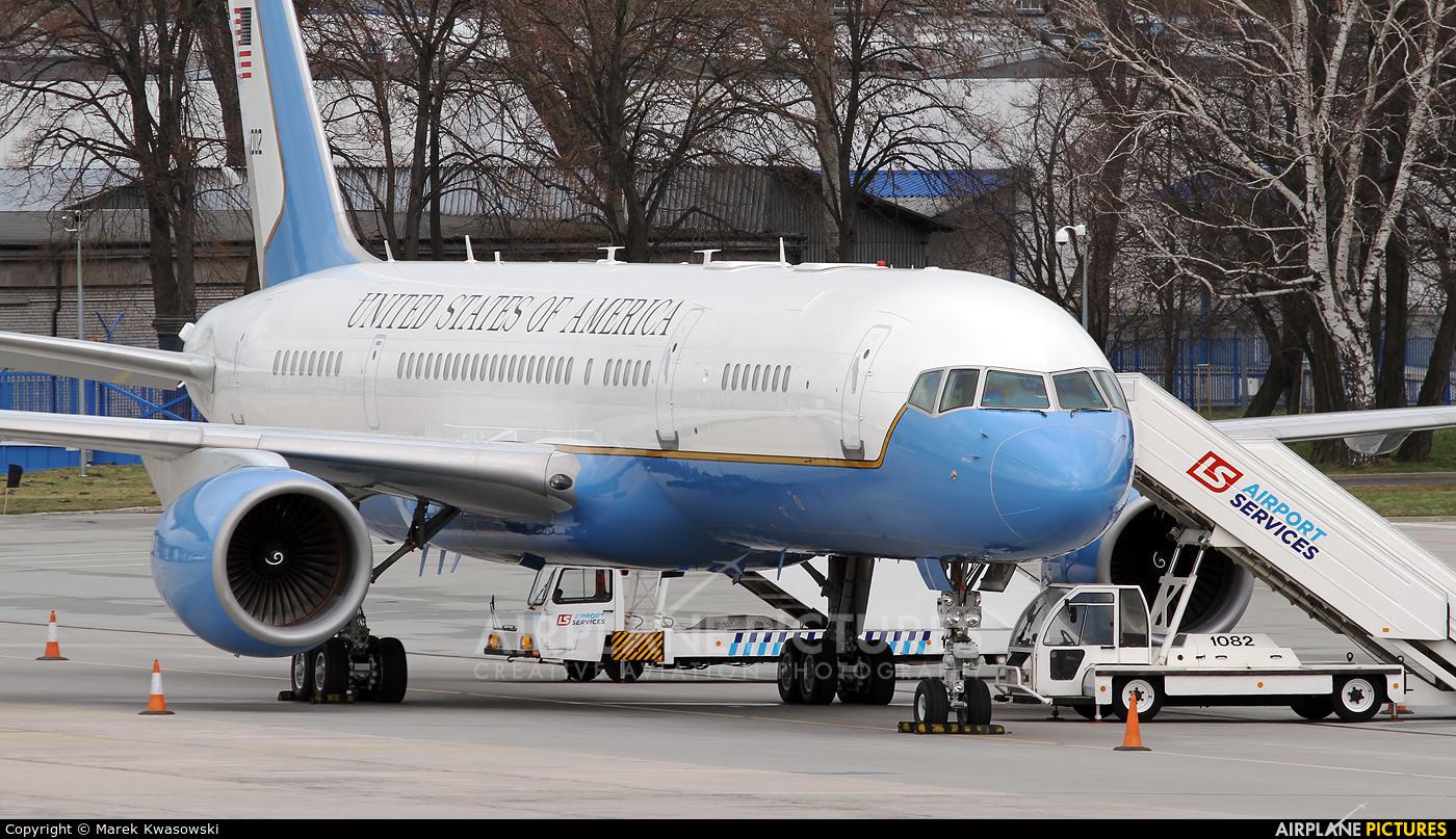 USA - Air Force 98-0002 aircraft at Warsaw - Frederic Chopin