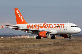 G-EZII - easyJet Airbus A319