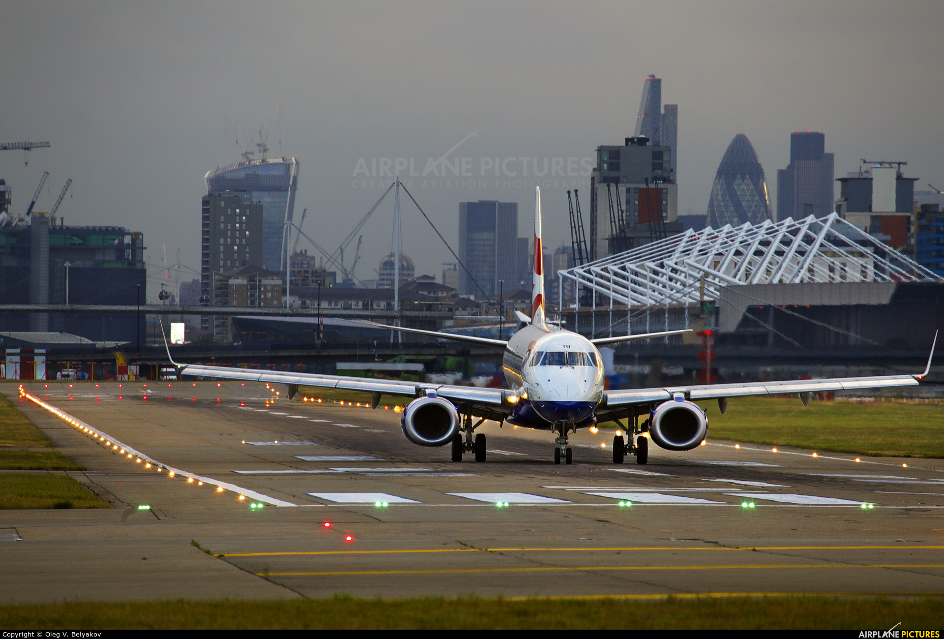 British Airways - City Flyer G-LCYO aircraft at London - City