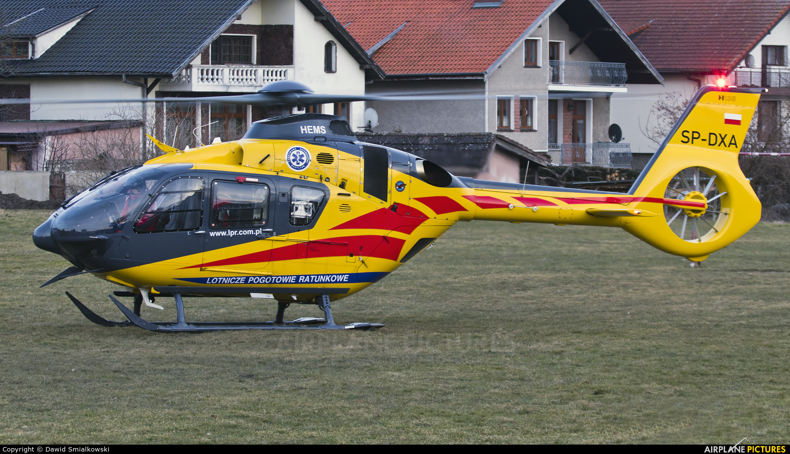 Polish Medical Air Rescue - Lotnicze Pogotowie Ratunkowe SP-DXA aircraft at Undisclosed location