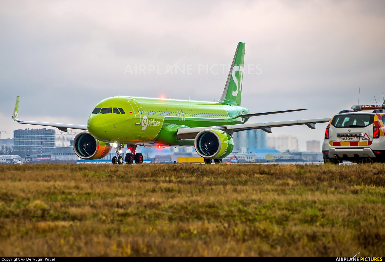 S7 Airlines VQ-BCH aircraft at St. Petersburg - Pulkovo
