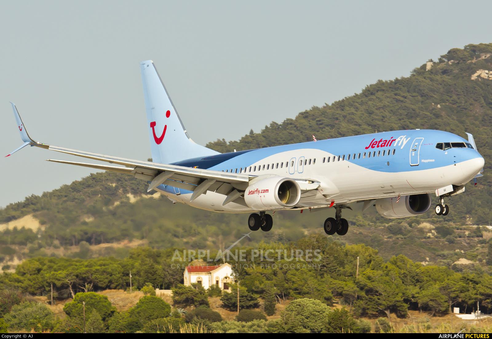 Jetairfly (TUI Airlines Belgium) OO-JAV aircraft at Rhodes - Diagoras