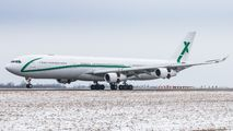 9H-BIG - AIR X Charter Airbus A340-300 aircraft