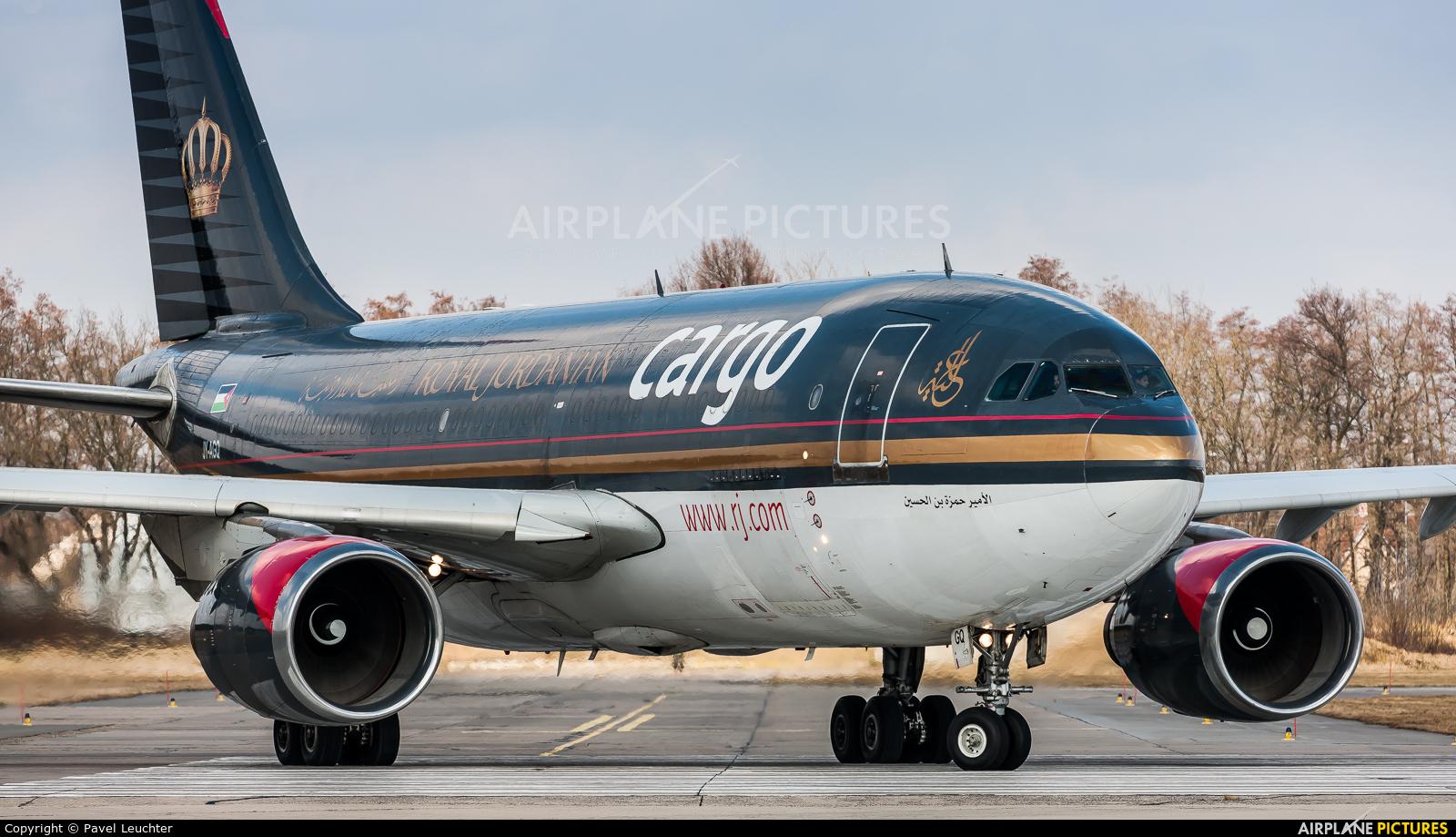Royal Jordanian Cargo JY-AGQ aircraft at Pardubice