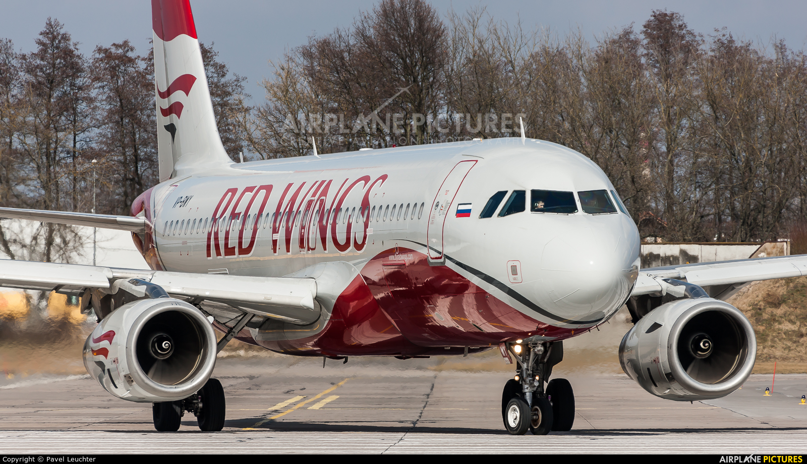 Red Wings VP-BWY aircraft at Pardubice