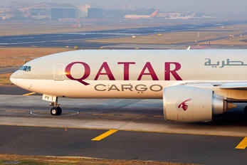A7-BFE - Qatar Airways Cargo Boeing 777F