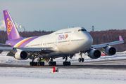 HS-TGO - Thai Airways Boeing 747-400 aircraft