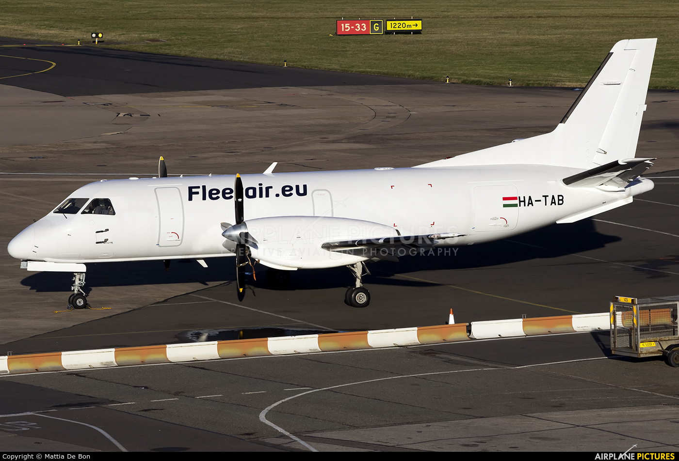 Fleet Air International HA-TAB aircraft at Birmingham