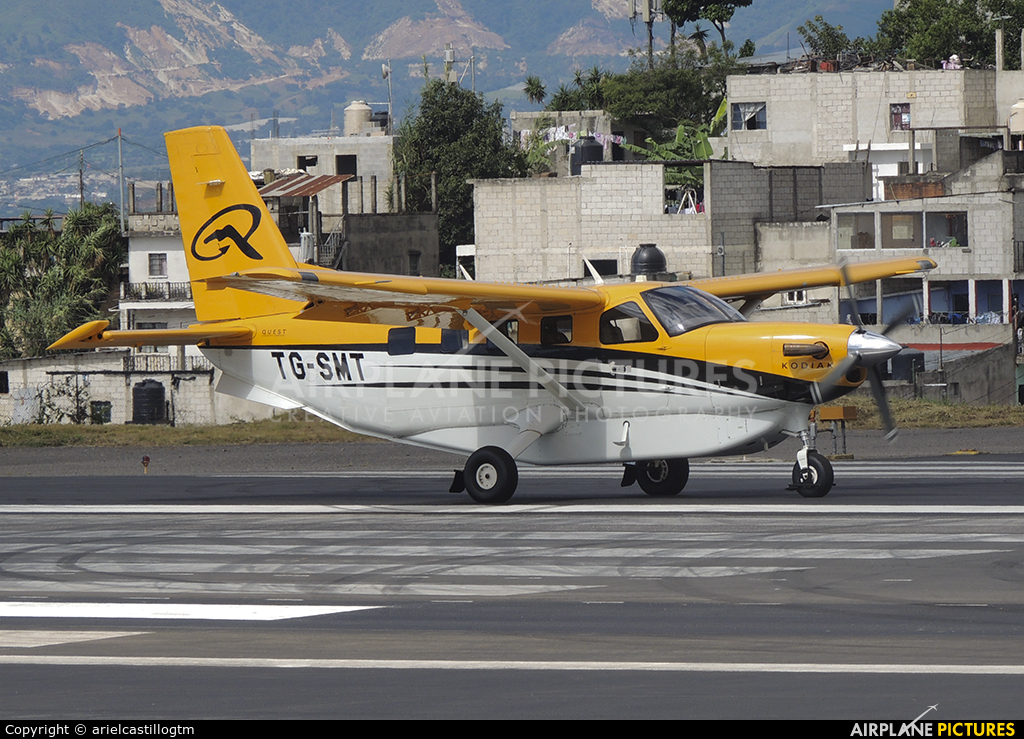 Private TG-SMT aircraft at Guatemala - La Aurora