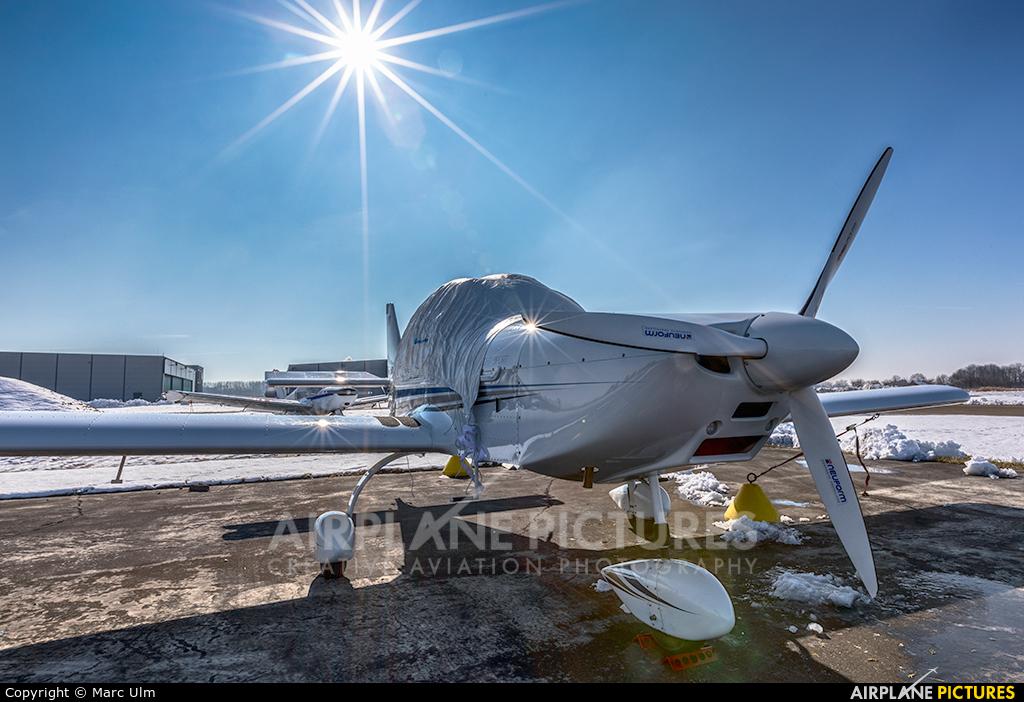 Private D-EVBA aircraft at Augsburg