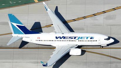 C-GWBN - WestJet Airlines Boeing 737-700