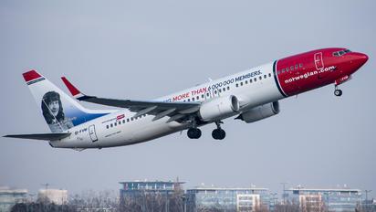 EI-FVM - Norwegian Air International Boeing 737-800