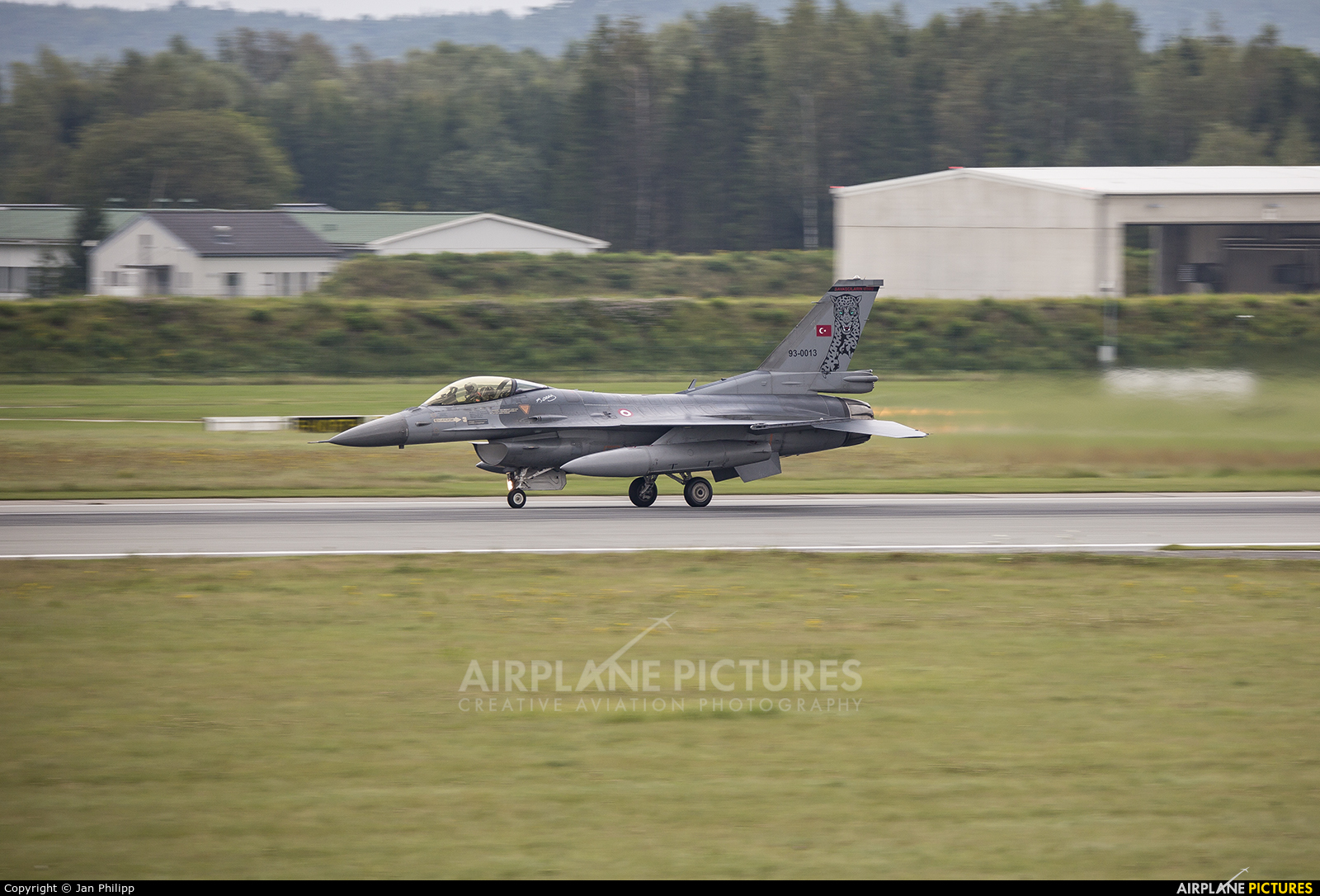 Turkey - Air Force 93-0013 aircraft at Rostock - Laage