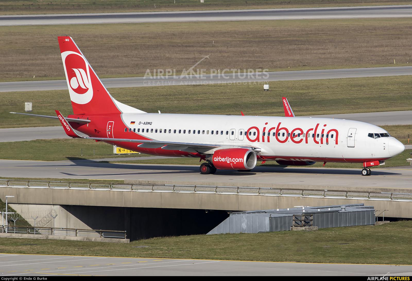 Air Berlin D-ABMQ aircraft at Munich