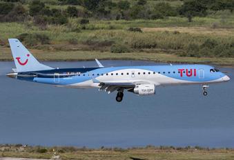 OO-JEM - TUI Airlines Belgium Embraer ERJ-190 (190-100)