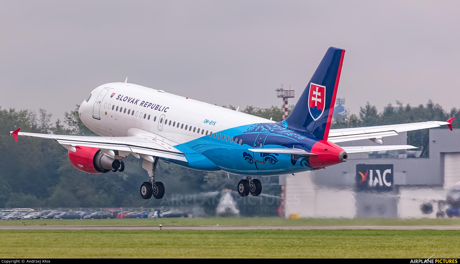Slovakia - Government OM-BYK aircraft at Ostrava Mošnov