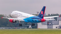 OM-BYK - Slovakia - Government Airbus A319 CJ aircraft