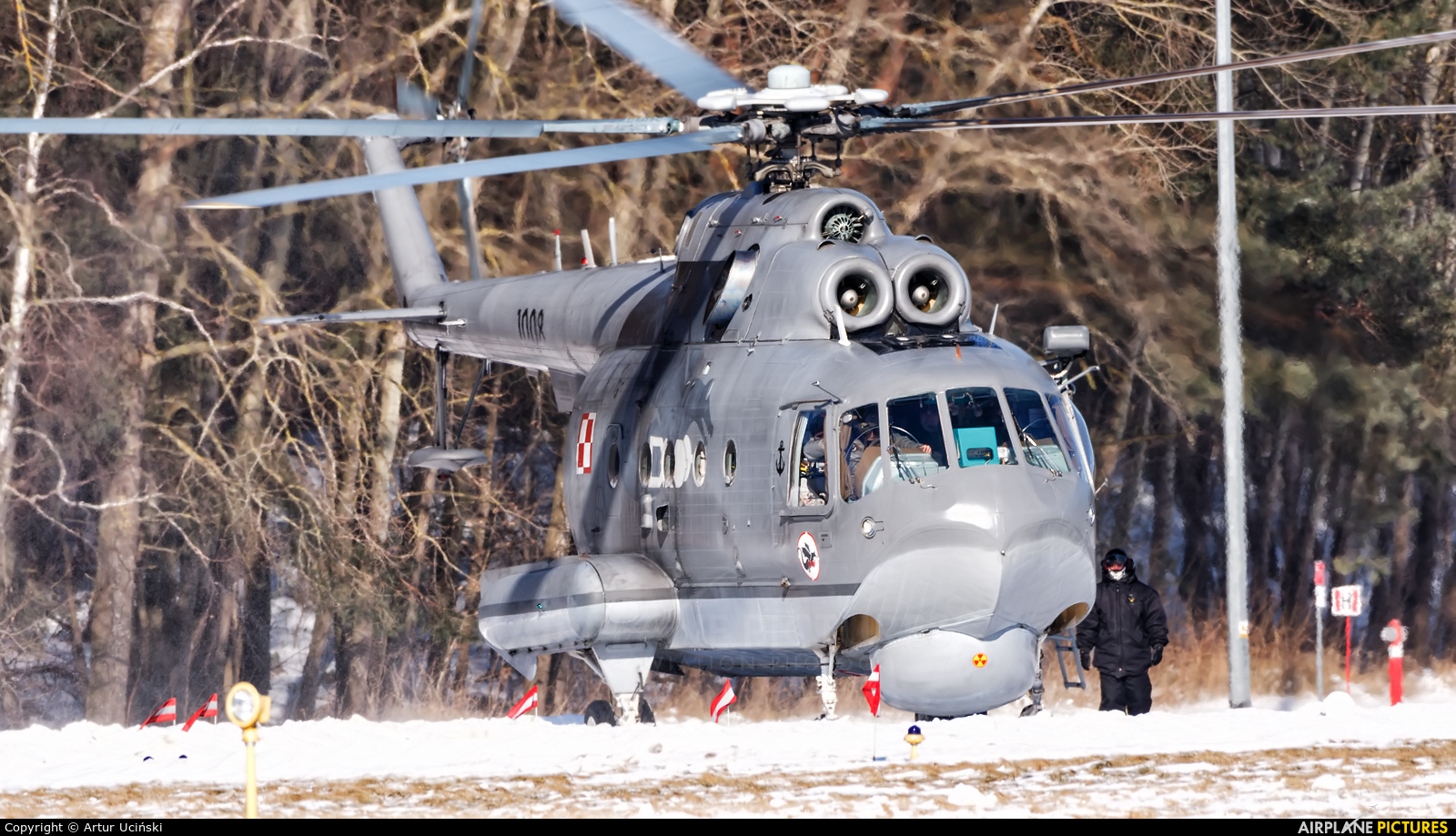 Poland - Navy 1008 aircraft at Darłowo