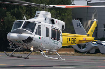 XA-EHB - Private Bell 412EP
