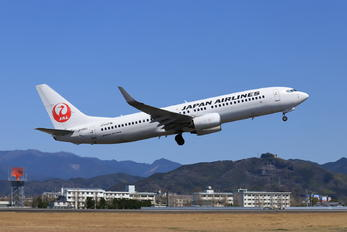 JA309J - JAL - Japan Airlines Boeing 737-800