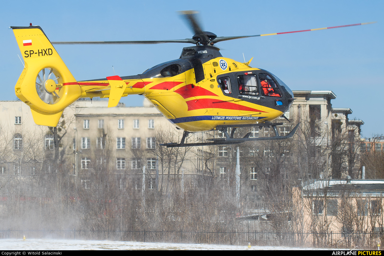 Polish Medical Air Rescue - Lotnicze Pogotowie Ratunkowe SP-HXD aircraft at Warsaw - Off Airport