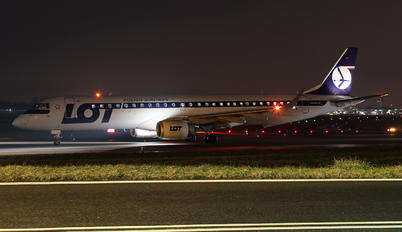 SP-LNB - LOT - Polish Airlines Embraer ERJ-195 (190-200)