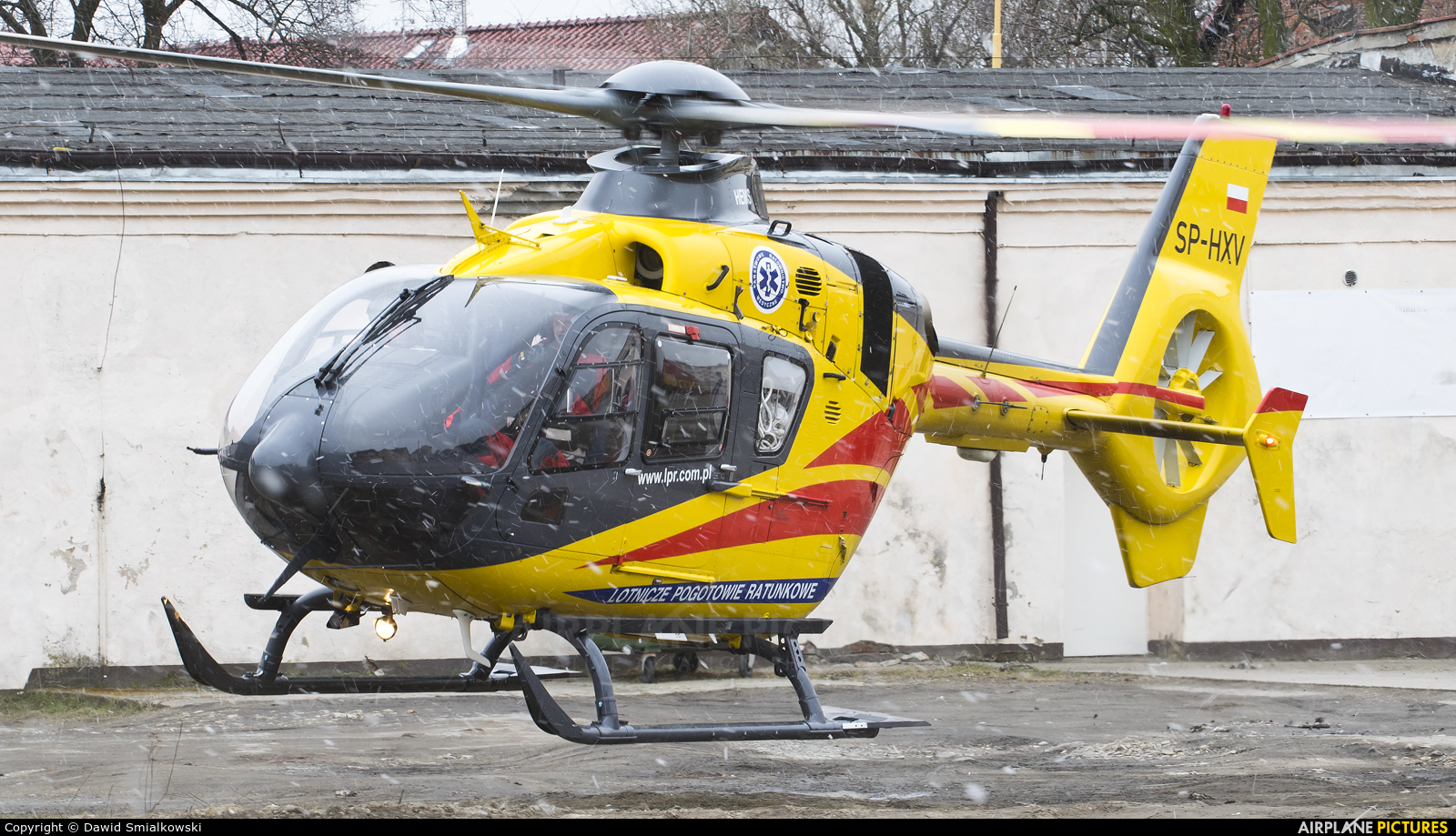 Polish Medical Air Rescue - Lotnicze Pogotowie Ratunkowe SP-HXV aircraft at Undisclosed location