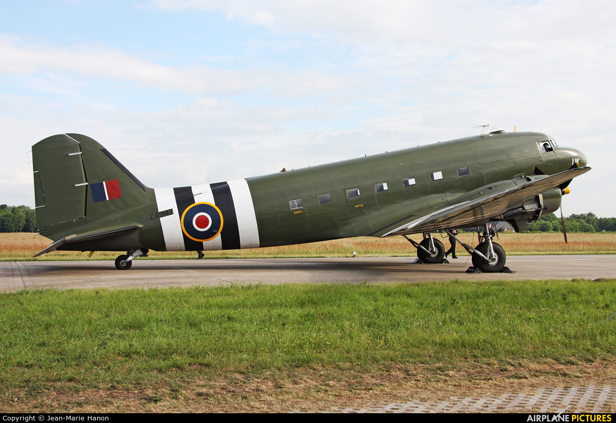 "Royal Air Force ""Battle of Britain Memorial Flight"" ZA947 aircraft at Uden - Volkel"