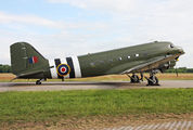 "ZA947 - Royal Air Force ""Battle of Britain Memorial Flight&quot Douglas C-47A Dakota C.3 aircraft"