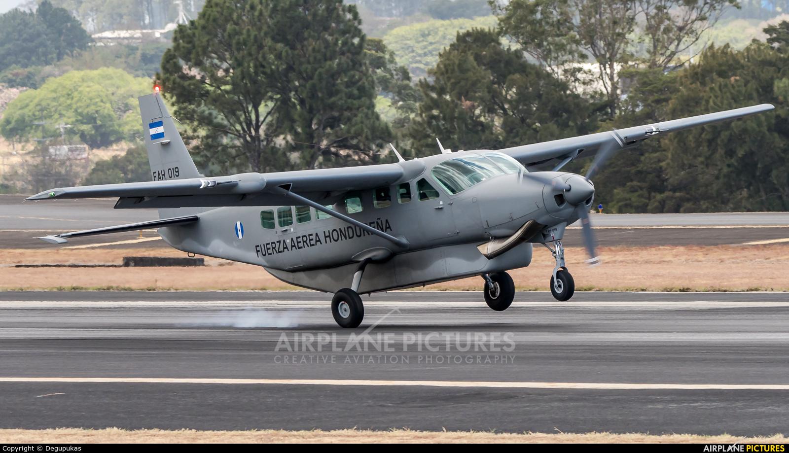 Honduras - Air Force FAH-019 aircraft at San Jose - Juan Santamaría Intl