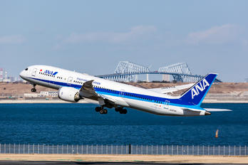 JA875A - ANA - All Nippon Airways Boeing 787-9 Dreamliner