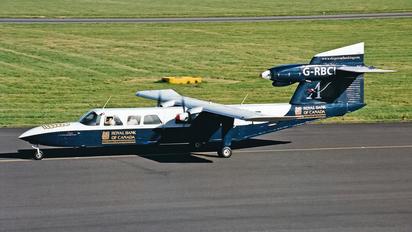 G-RBCI - Aurigny Air Services Britten-Norman BN-2 III Trislander