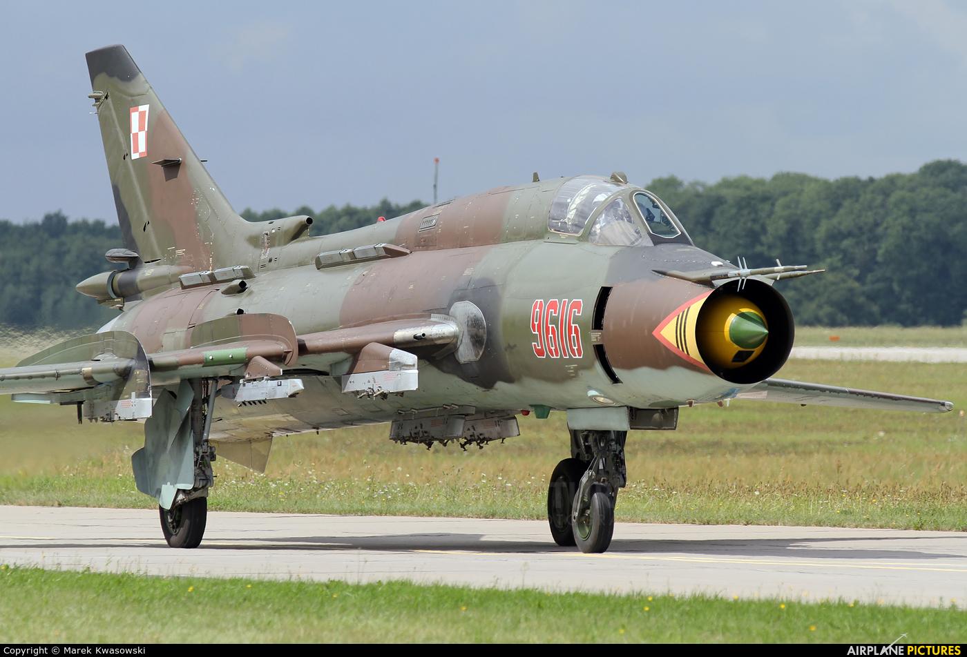 Poland - Air Force 9616 aircraft at Mińsk Mazowiecki