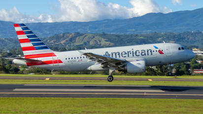 N737US - American Airlines Airbus A319