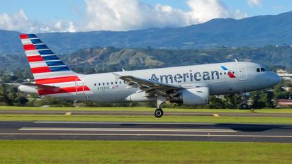 N737US - American Airlines Airbus A319