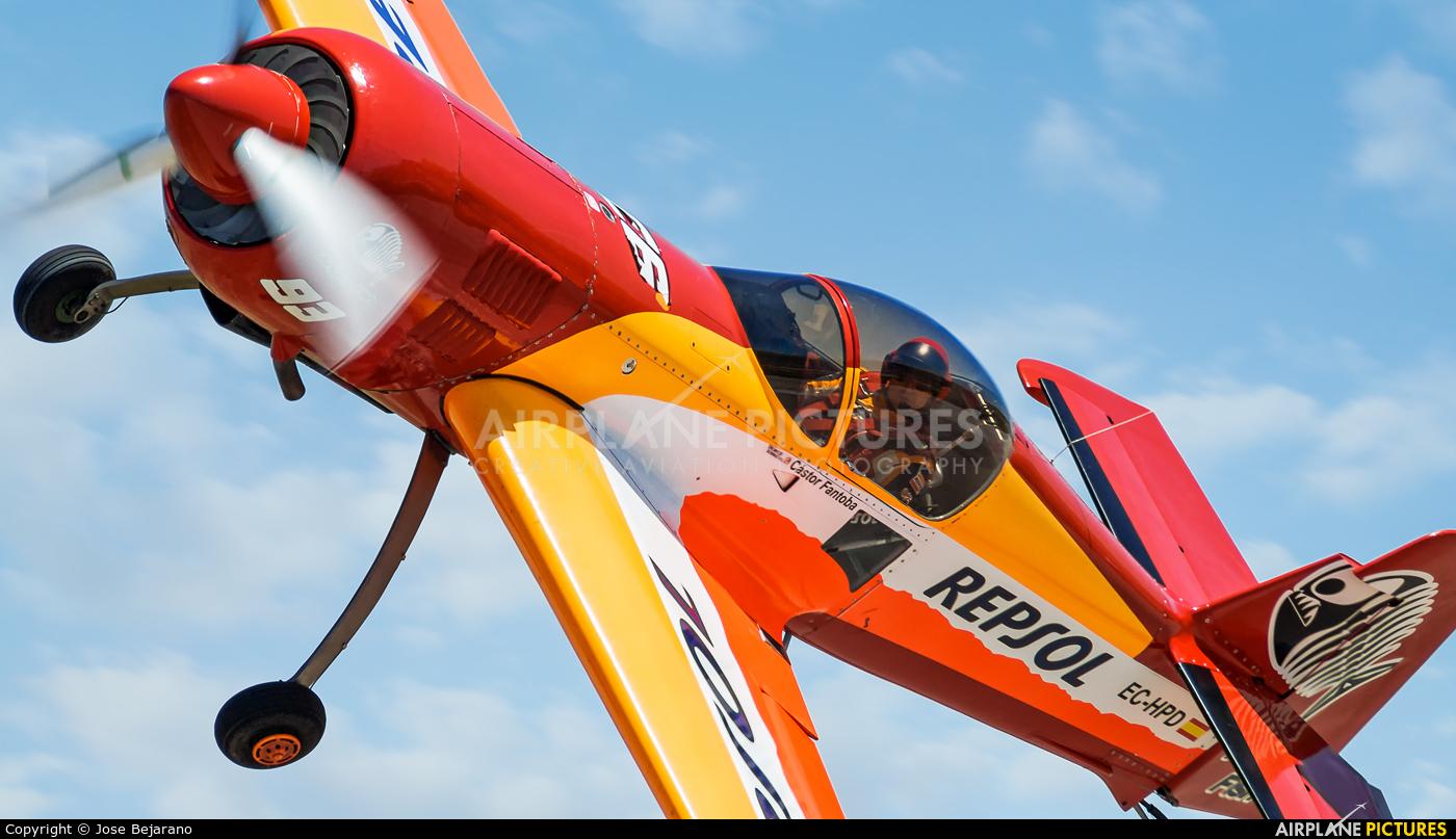 Bravo3/Repsol Team EC-HPD aircraft at Cadiz - Trebujena