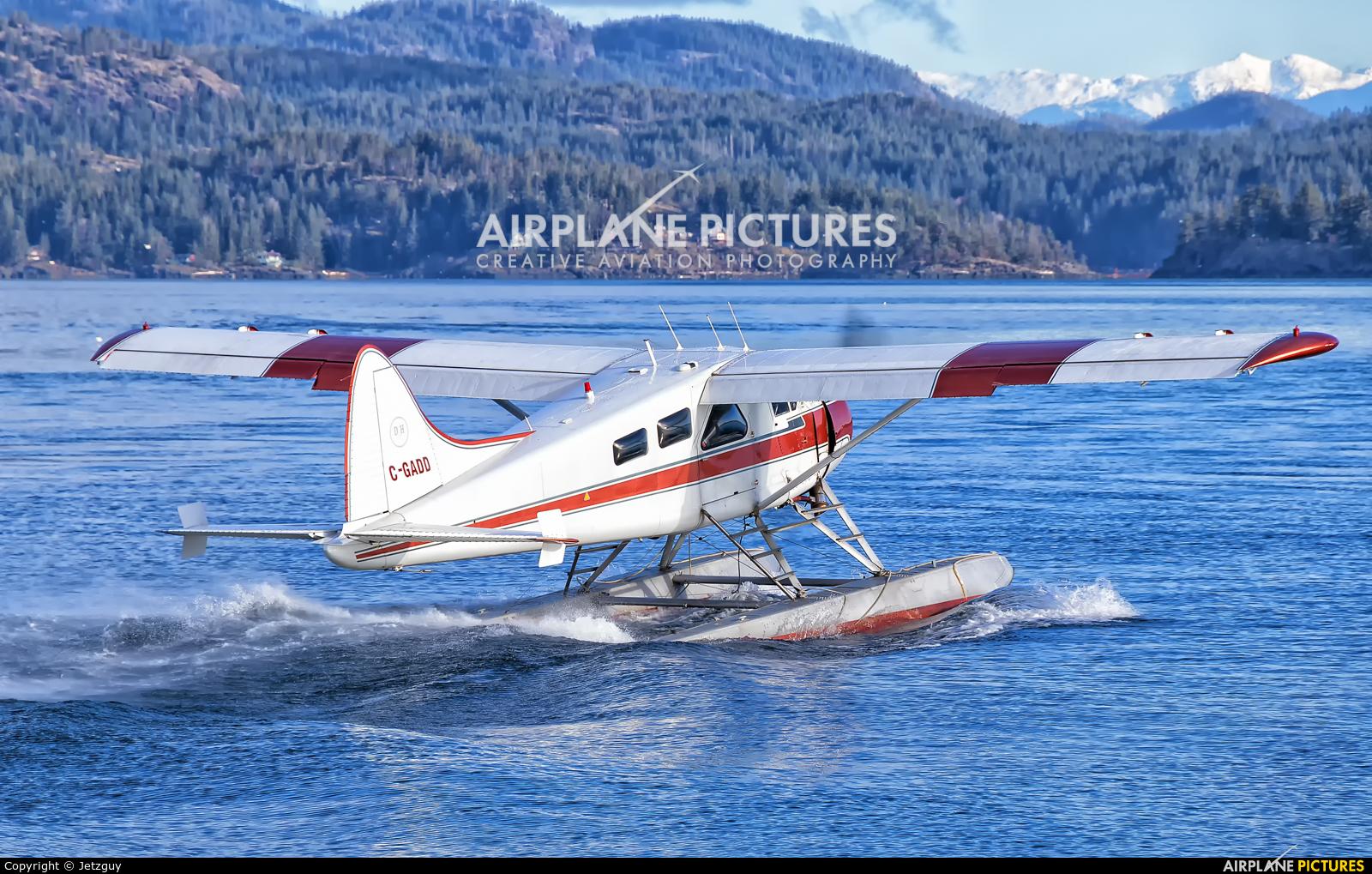 Corilair C-GADD aircraft at Campbell River Seaplane Base